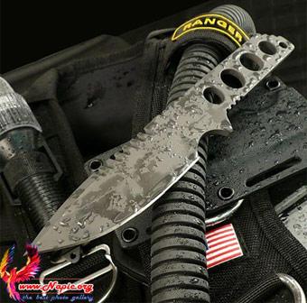 چاقو شکاری پرتابی