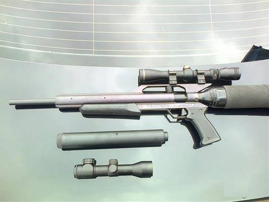 تفنگ بادی تلنبه ای طوفان قدرت gun power storm