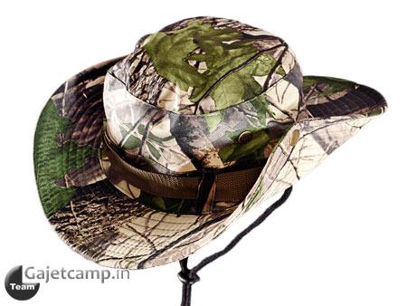 کلاه استتار برگ درختی