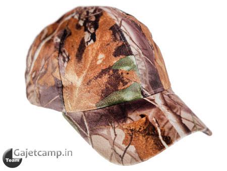 کلاه لبه دار استتار برگ درختی