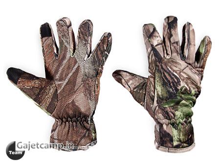 دستکش استتار جنگلی