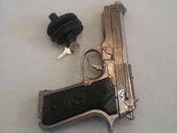 قفل کلیدی تفنگ و کلت