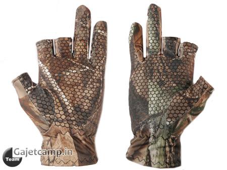 دستکش استتار پاییزی