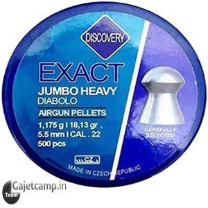 ساچمه دیسکاوری اگزکت جامبو هوی دیابلو 250 کالیبر 5.5