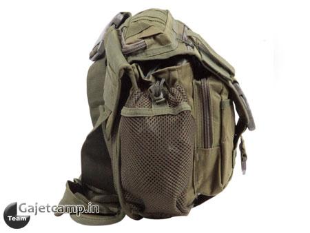 کیف کمپینگ دوشی سبز