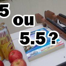 کالیبر 5.5 یا 4.5