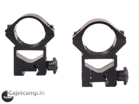 پایه دوربین تفنگ پیچ بلند رینگ 25 ریل 11