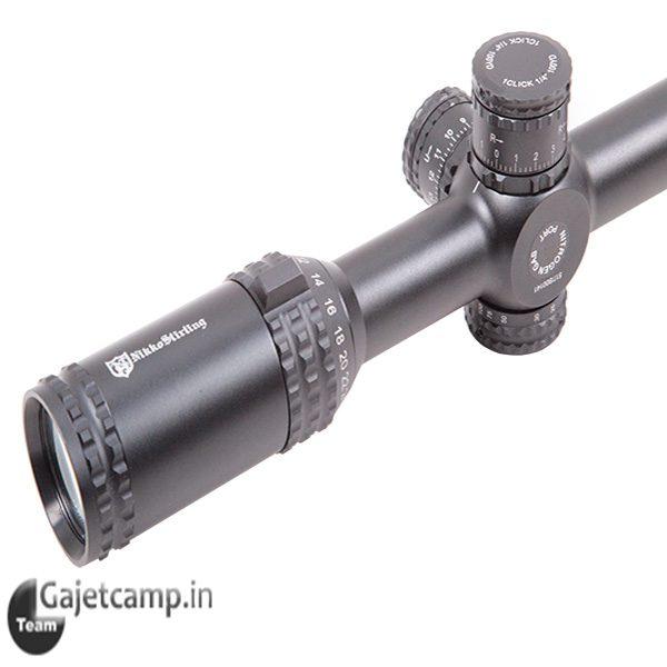 دوربین تفنگ نیکو استرلینگ تارگت مستر وان اینچ ۵۰×۲۴ـ۶
