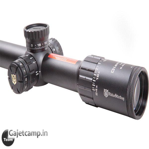 دوربین تفنگ نیکو استرلینگ دایموند لانگ رنج ۵۰×۲۴ـ۶