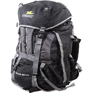 کوله پشتی کوهنوردی مسافرتی ۱۰+۶۰ لیتری ایرکانتکت بیورک بلک